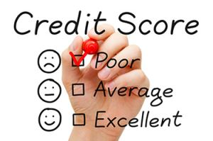 bad credit impact on second mortgage
